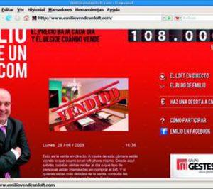Gestesa vende pisos a través de un reality show inmobiliario