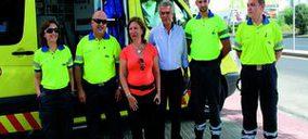 Murcia presenta una nueva Unidad Móvil de Emergencias