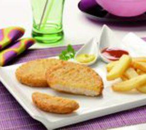 Eurofrits presenta su hamburguesa de pescado