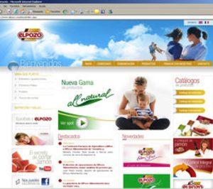 ElPozo renueva su página web