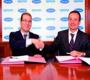 Uponor y Carrier alcanzan un acuerdo comercial