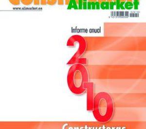 Las constructoras redujeron sus ventas un 14% en 2009