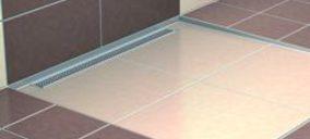 Nuevo sistema para duchas de obra a ras de suelo
