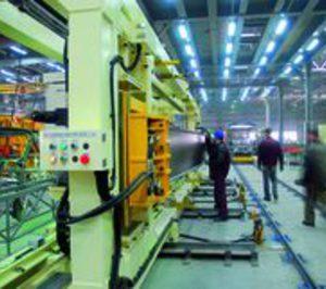 La producción de máquinas-herramienta se redujo en 2009 tras cinco años de crecimiento