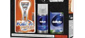 Gillette recupera su hombre lija cara a la navidad