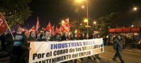 Huelga indefinida y amenaza de concurso en Cárnicas Valle