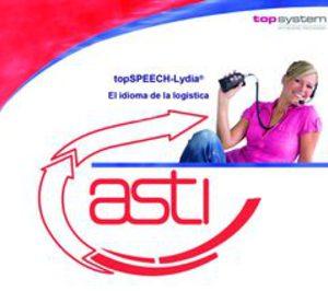 Asti y Topsystem se alían para desarrollar el picking por voz