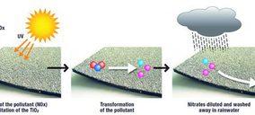 Icopal presenta sus láminas descontaminantes NOx-Activ