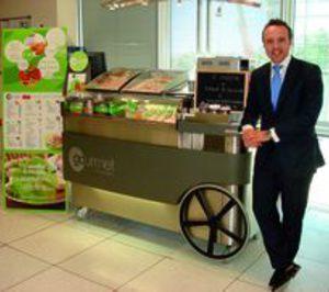 Los carritos de Gourmet on Wheels salen del Metro