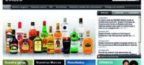 Diageo estrena web en español