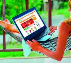 La comodidad de hacer la compra on line