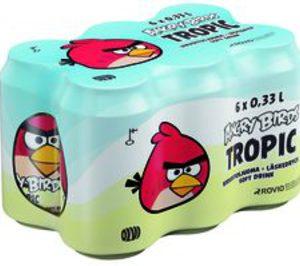 Los refrescos Angry Birds llegan a España