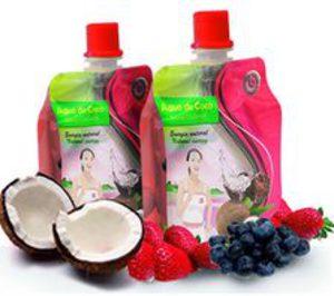 Fruselva lanza agua de coco para deportistas