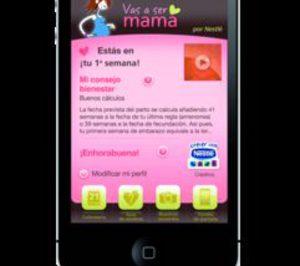 Nestlé lanza una aplicación de Iphone para embarazadas