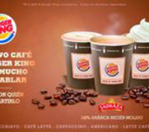 Burger King redefine con Saimaza su oferta de café