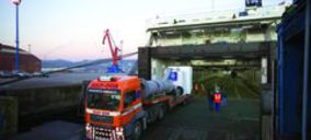 Suardíaz inaugura la ruta para Gefco desde Vigo