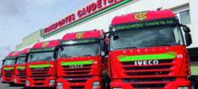 Transportes Caudete incorpora 90 nuevos camiones Iveco Ecostralis
