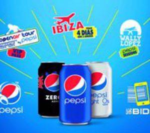 Pepsi lanza el código de barras promocional