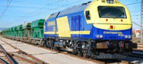 Continental Rail desarrolla nuevas rutas