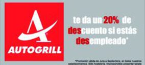 Autogrill Iberia ayuda a los desempleados españoles con descuentos durante el verano