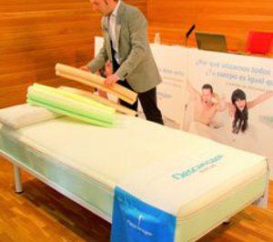 La nueva Descansare presenta un colchón de diseño personalizado