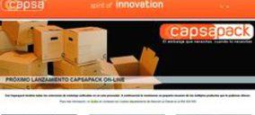 Capsa Packaging lanza su portal de venta online