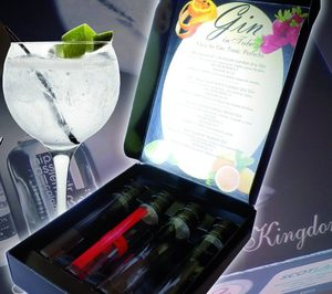 Gin in tube, lo último en ginebras de Hisúmer