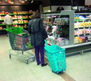 La cesta trata de imponerse en la compra
