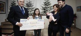Laboratorios Ordesa premia al último bebé del año