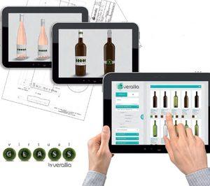 Verallia España desarrolla Virtual Glass, una app para simular envases de vidrio en 3D