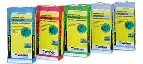 Weber lanza adhesivos cementosos para la edificación sostenible