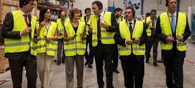 Isabel García Tejerina inaugura la fábrica de Molecor