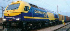 Continental Rail une Valencia con Zaragoza