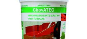 Chova presenta su nuevo revestimiento antigoteras ChovATEC
