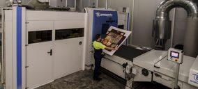 Grupo Hinojosa instala en Xátiva la primera impresora industrial single pass de Europa