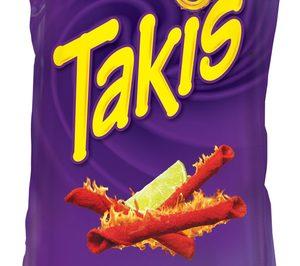 Bimbo lanza Takis, una nueva marca de snacks picantes