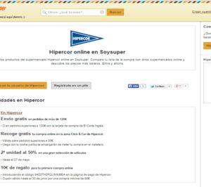Soysuper integra a Hipercor