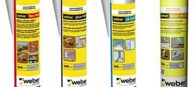 Weber lanza una nueva gama para sellado y pegado