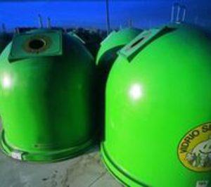 La tasa europea de reciclaje de envases de vidrio alcanza el 73%
