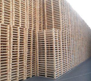 El uso de palés de madera crece moderadamente