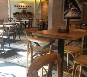 Beer & Food presenta la nueva imagen de Gambrinus en franquicia