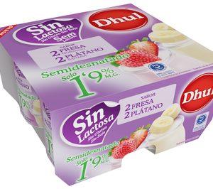 Dhul refuerza su apuesta en yogures para liderar el segmento sin lactosa
