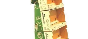 Saica Pack presenta Visiobox, un nuevo tipo de expositor para frutas y verduras