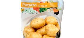 Udapa prepara el lanzamiento de las bolsas de patatas para microondas bajo su marca propia