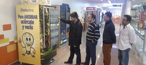 Dielectro Industrial desarrolla la primera máquina expendedora de bombillas