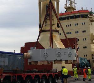 CNAN Nord prueba nueva ruta en el puerto de Bilbao