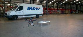 MRW apuesta por envíos con drones