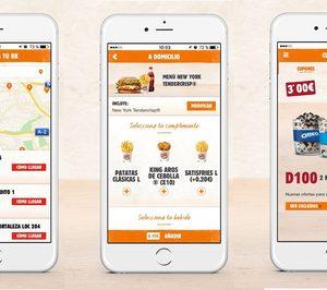 Burger King potencia el servicio a domicilio en su nueva app