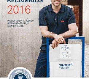 Grohe lanza su nueva tarifa recambios 2016 noticias de for Tarifa grohe