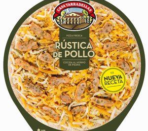 Tarradellas presenta su nueva pizza rústica de pollo
